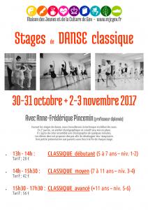 Stage danse classique (débutant)