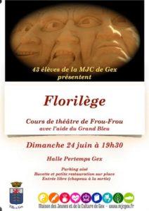 Florilège @ Espace Perdtemps | Gex | Auvergne-Rhône-Alpes | France