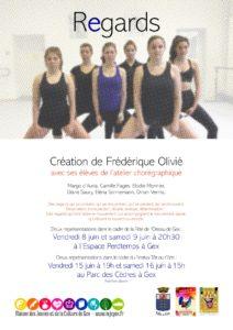 Regards - Création de l'atelier chorégraphique @ Espace Perdtemps | Gex | Auvergne-Rhône-Alpes | France