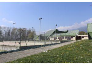 Entrer dans le centre sportif Sergy
