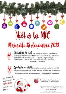 Noël 2019 à la MJC